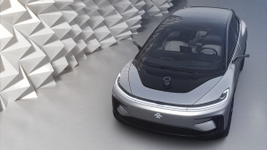 Faraday Future zeigt erstmals den FF 91 © Faraday Future