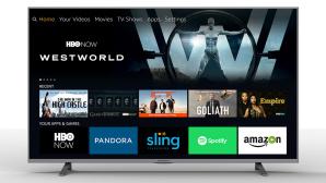 Fire-OS-Fernseher mit Amazon-Menü ©Seiki