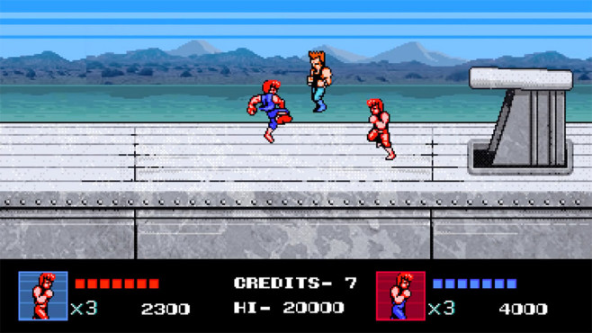 Double Dragon 4 © Capcom