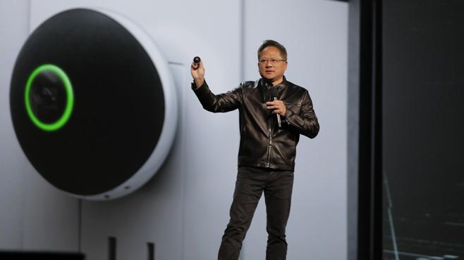 Nvidia präsentiert auf der CES den Spot ©Nvidia