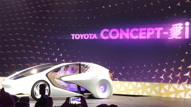 Toyota Concept-i ©COMPUTER BILD
