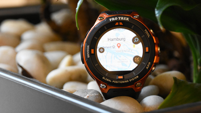 WSD-F20: Casios Outdoor-Smartwatch im Test