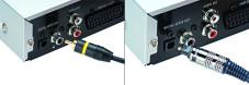 Wichtig für 5.1: Am DVD-Spieler übertragen nur Digitalausgänge optimalen Heimkinoton.