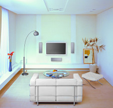 ratgeber lcd und plasma tv an der wand anbringen audio video foto bild. Black Bedroom Furniture Sets. Home Design Ideas