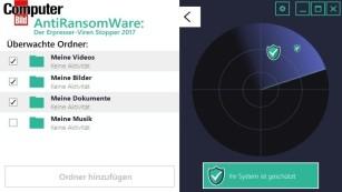AntiRansomware 2017: Alarm bei Erpresserviren ©COMPUTER BILD