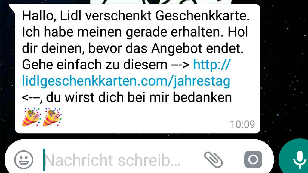 Lidl warnt: WhatsApp-Gutschein ist ein Fake! - COMPUTER BILD