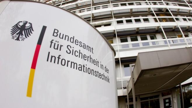 BSI: Eingang ©Bundesamt für Sicherheit in der Informationstechnik