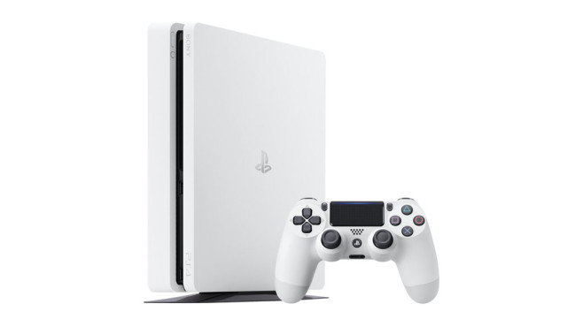 PS4 Slim: Glacier White © Sony