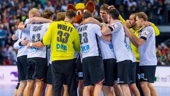Deutsche Handball-Nationalmannschaft ©Sascha Klahn/DHB