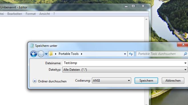 Dateien bestimmter Formate erzeugen ©COMPUTER BILD