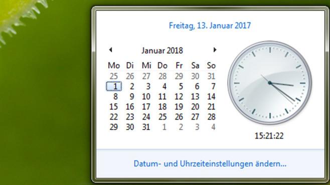 Wochentage per Datumsdialog ermitteln ©COMPUTER BILD