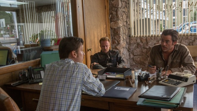 Szenenbild Hell or High Water: Kevin Rankin, Ben Foster, Chris Pine © Paramount Pictures