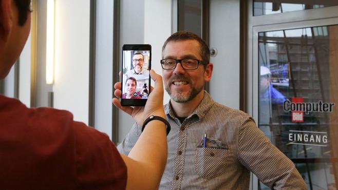 Nokia 8 im Labor-Test: Doppelaufnahme ©COMPUTER BILD