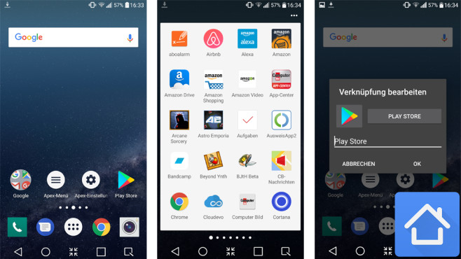 Apex Launcher ©Android Does