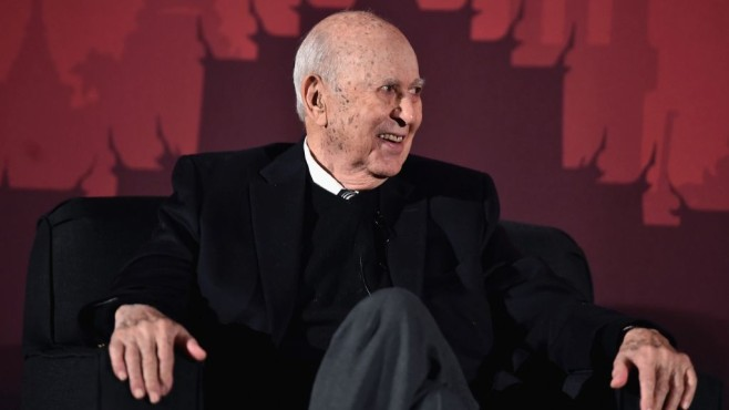 Carl Reiner im Sessel © Alberto E. Rodriguez/gettyimages