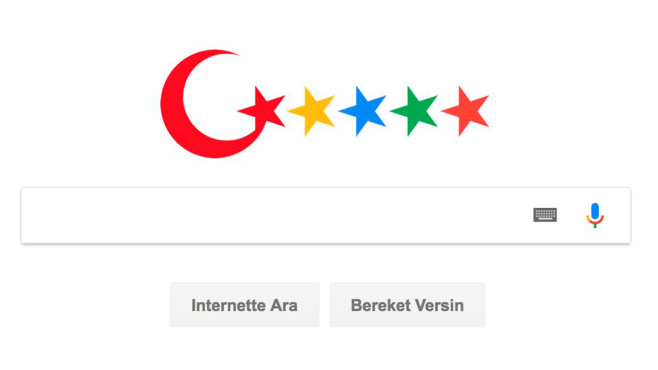 Türkei plant nationales Google © Turkey Blocks / Twitter