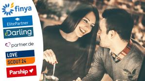 Datingportale im Test ©Finya, Elitepartner, eDarling, partner.de, LoveScout24, Parship, ©istock.com/gilaxia