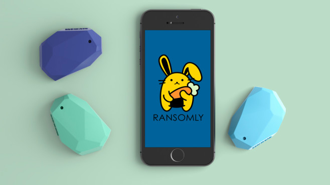 Ransomly App und Beacon © Ransomly