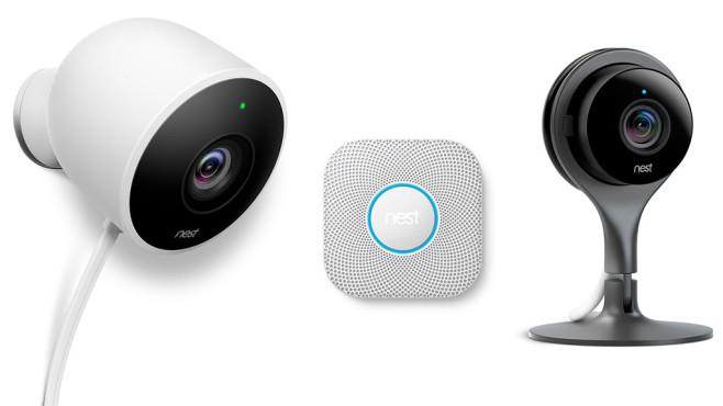 Nest Cam Outdoor Indoor Protect Rauchmelder ©Nest