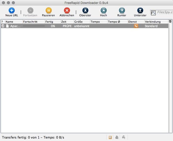 Free Rapid Downloader (Mac) 0.9 - Download - COMPUTER BILD