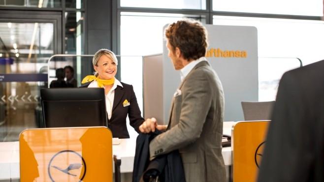 Check-in Lufthansa ©Lufthansa
