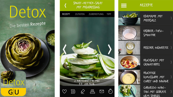 Detox – die besten Rezepte ©GRÄFE und UNZER Verlag GmbH