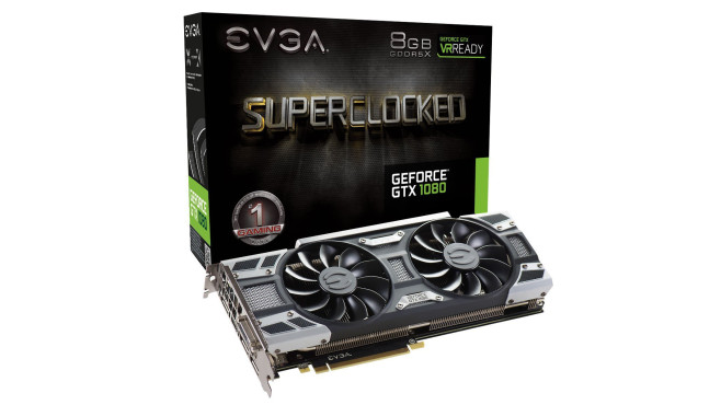 EVGA GeForce GTX 1080 SC GAMING ACX 3.0 8192MB GDDR5X © EVGA