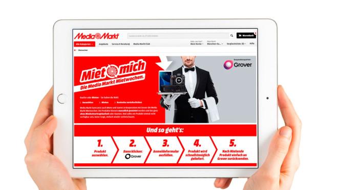 Media Markt Verleihsystem ©Media Markt