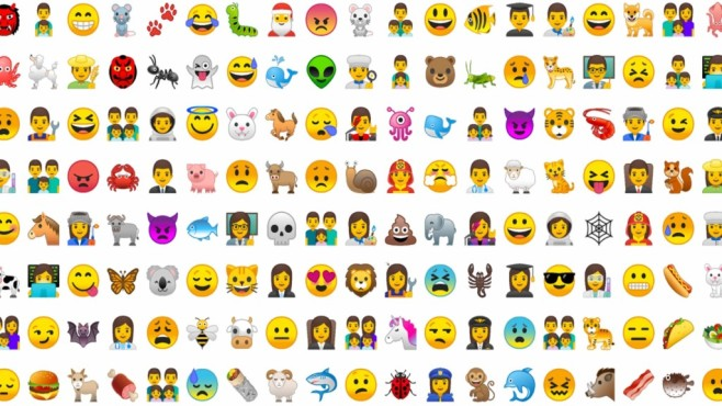 Android O Emojis ©Google