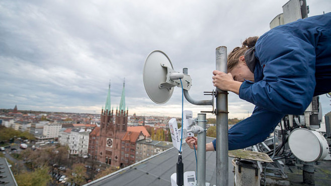 Freifunk: Antenne © CC BY-SA 3.0 / Boris Niehaus (JUST)