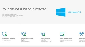 Windows Defender Security Center © Microsoft