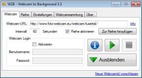 W2B (Webcam to Background)