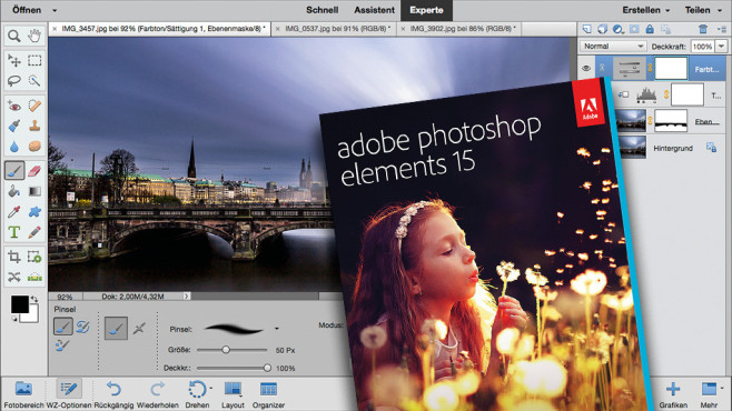 Adobe Photoshop Elements © Adobe
