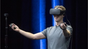 Zuckerberg Oculus © David Paul Morris/Bloomberg