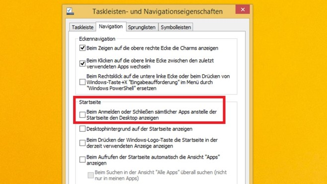 Kachel-Modus Windows 8.1 © COMPUTER BILD