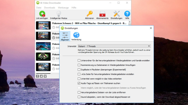 4K Video Downloader: Webclips herunterladen ©COMPUTER BILD