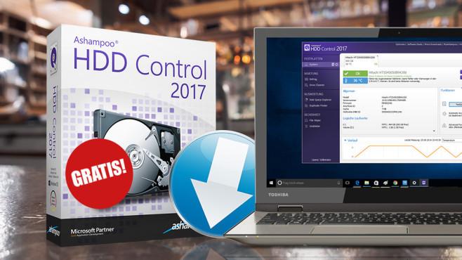 Ashampoo HDD Control 2017 – Kostenlose Vollversion: Pflegepaket für Festplatten ©COMPUTER BILD