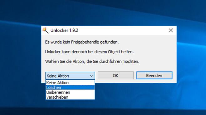 Unlocker: Unzugängliche Dateien entsperren ©COMPUTER BILD