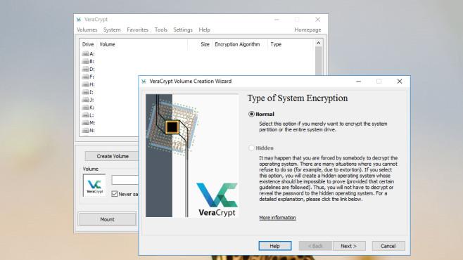 VeraCrypt: Dateien verschlüsseln ©COMPUTER BILD
