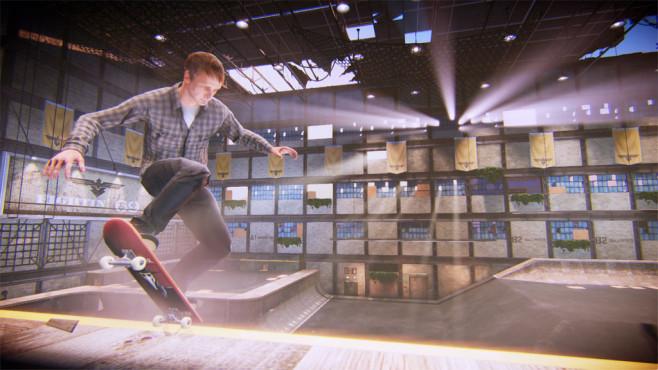Tony Hawk's Pro Skater 5: Halle ©Activision