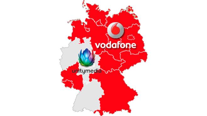 Analoges Kabel-Fernsehen vor dem Aus Vodafone (früher Kabel Deutschland) und Unitymedia versorgen das ganze Bundesgebiet mit Kabelanschlüssen, örtlich sind daneben oft kleinere Anbieter wie Telecolumbus zum Beispiel in Berlin verfügbar.©Vodafone, Unitymedia, COMPUTER BILD