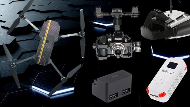 Drohnen-Zubehör ©Mjaud-Fotolia.com