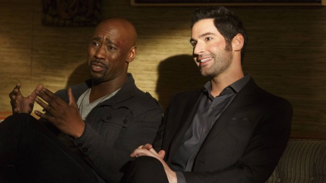Lucifer und Amendiel © Warner Bros. Entertainment International