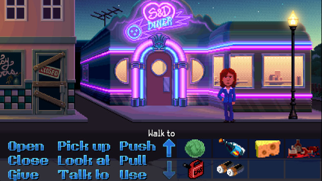 Screenshots: Thimbleweed Park © Ron Gilbert