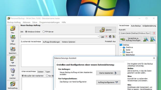 Personal Backup: Dateien sichern ©COMPUTER BILD
