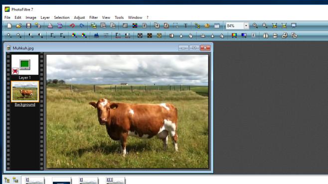 PhotoFiltre: Bilder bearbeiten, Icons erstellen ©COMPUTER BILD