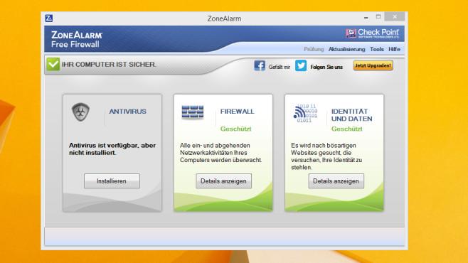 ZoneAlarm Firewall Free: Netzwerkangriffe abwehren ©COMPUTER BILD
