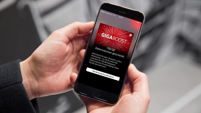 Vodafone GigaBoost ©Vodafone