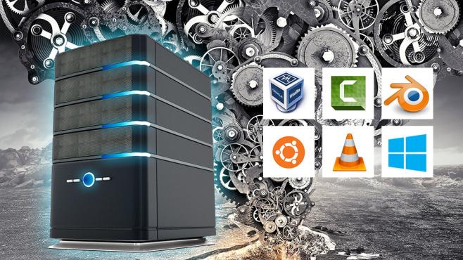 Power-PC besser nutzen ©Techsmith Camtasia,Ubuntu, Blender, Sergey Nivens-Fotolia.com