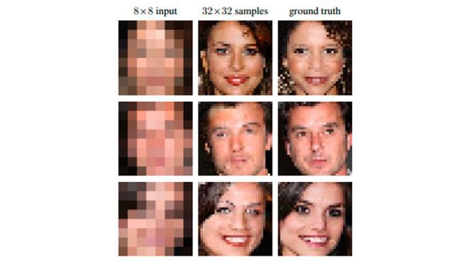 Google Brain: Software rechnet verpixelte Fotos scharf